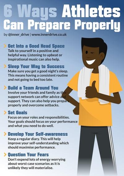 6 ways athletes can prepare properly