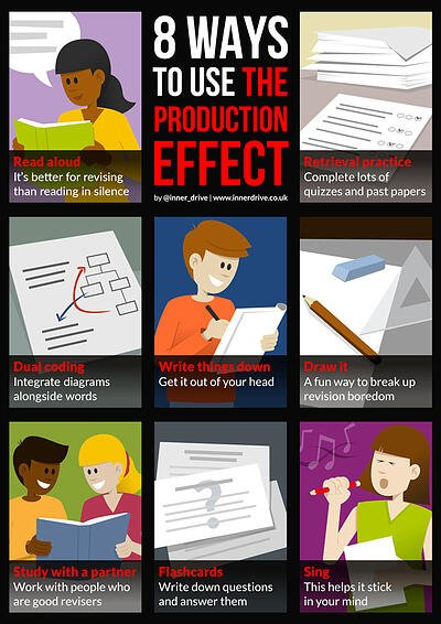 8 ways to use the production effect for revision