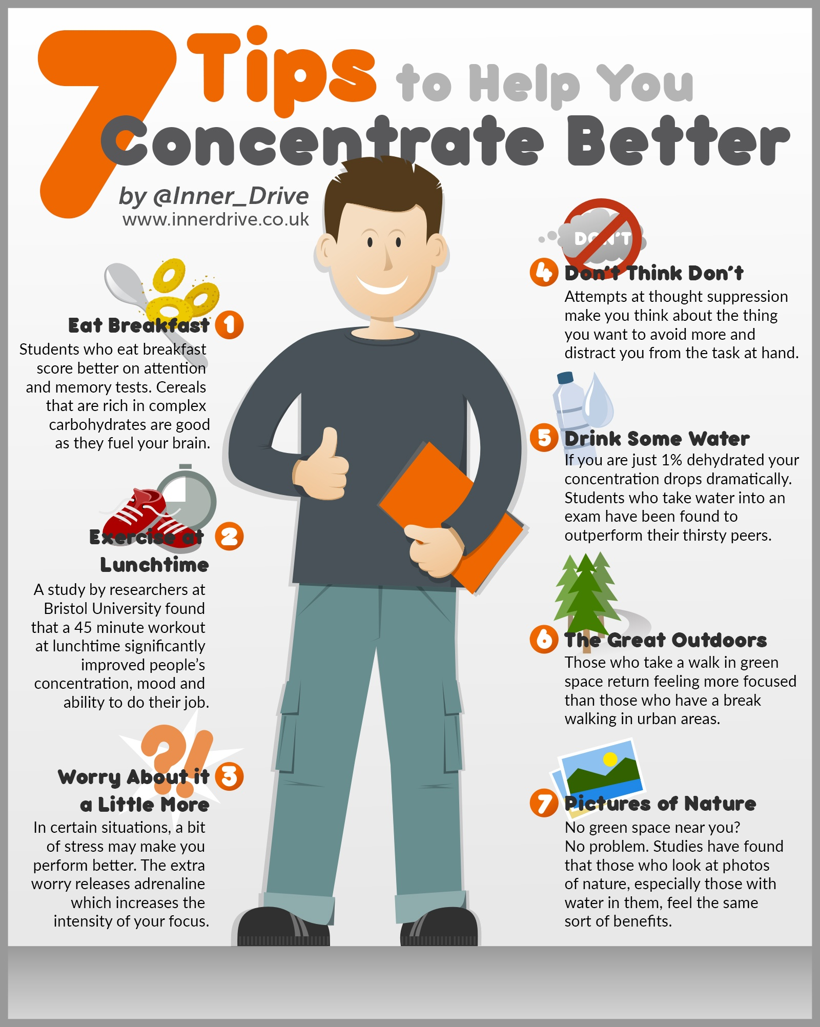 7 Tips to Help You Concentrate Better