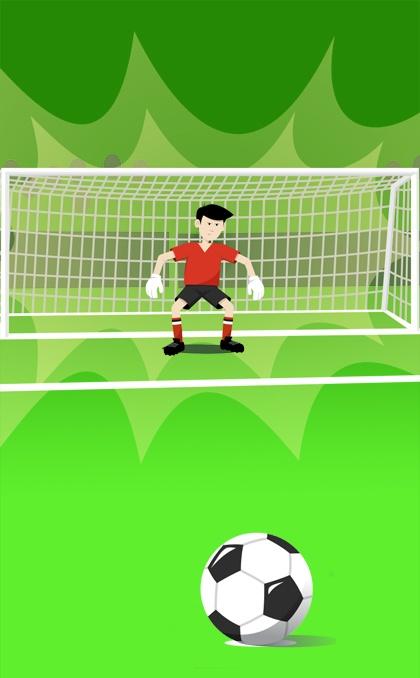 football and goal