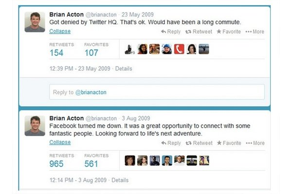 Brian Acton and his Growth Mindset