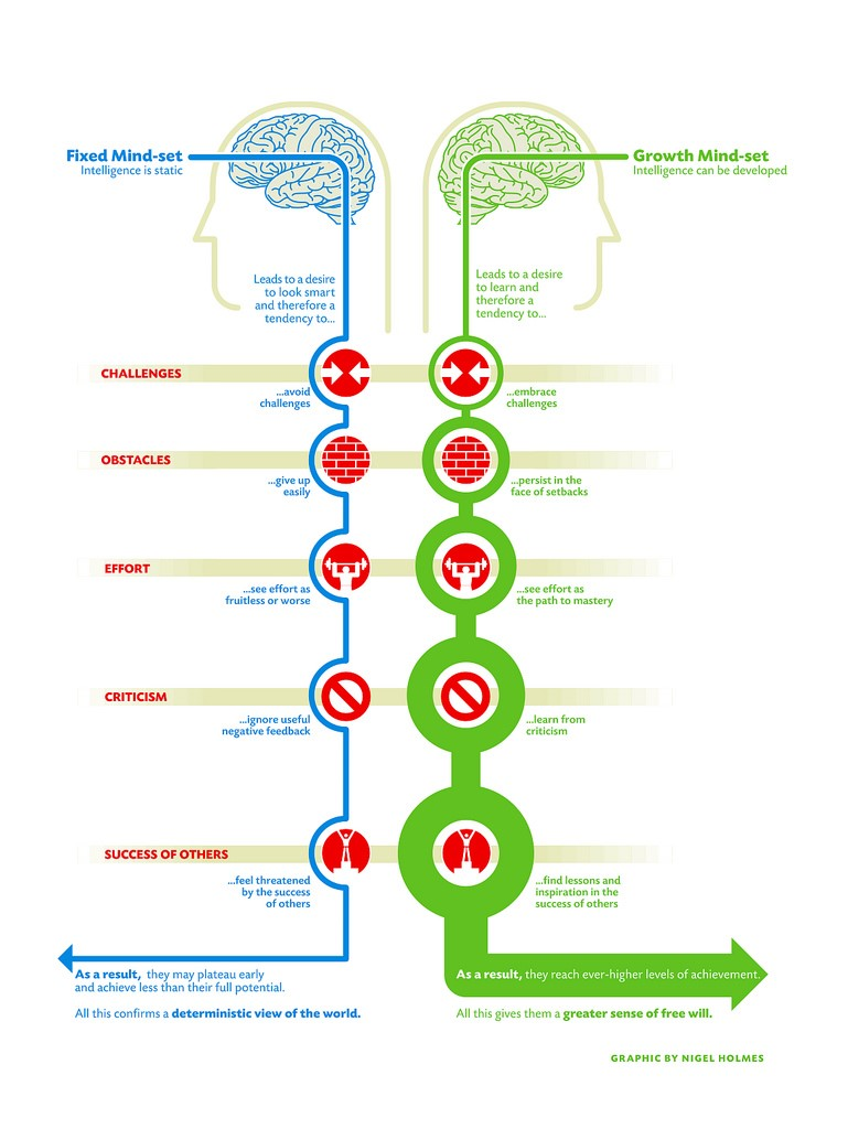 What is Growth Mindset and Fixed Mindset