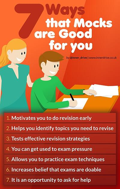 7 Ways Mock exams Are Good For You infographic