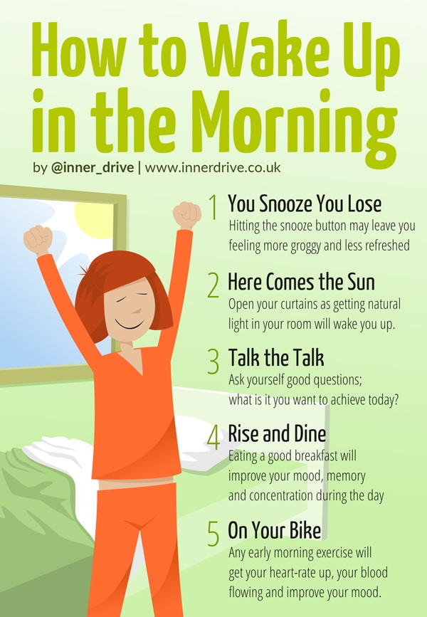How to Wake up in the Morning