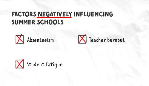 Summer school negative factors