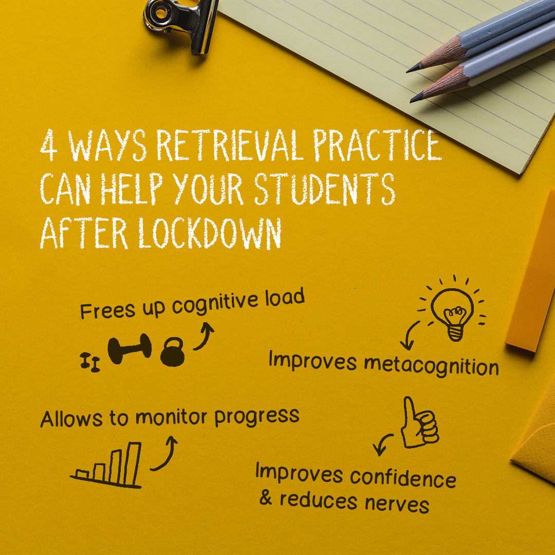retrieval practice to help students after lockdown