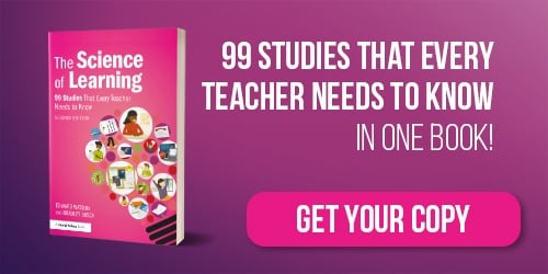 "Our book ""The science of learning: 77 studies that every teacher needs to know"" is now available to pre-order"