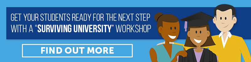 Workshops to get students ready for surviving university