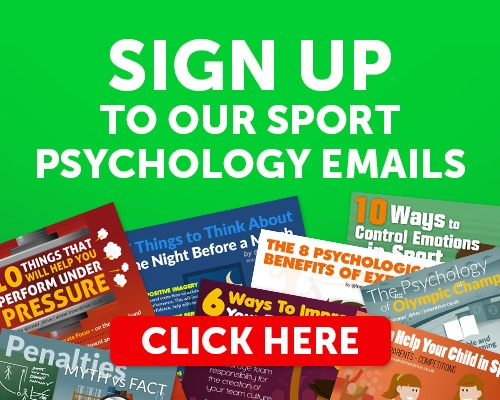 Sign up to sport psychology resources and emails