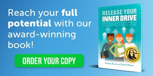 award winning book release your inner drive