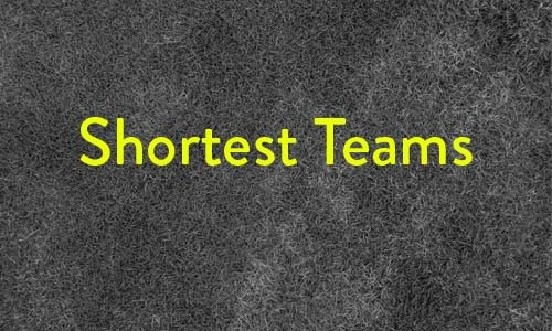 shortest teams