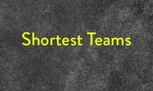 shortest teams