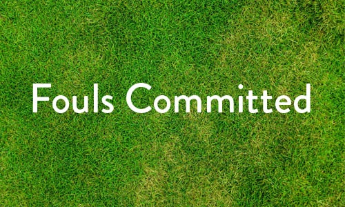 Fouls Committed