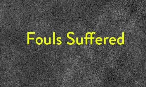 Fouls suffered