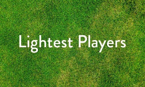 Lightest players