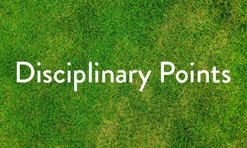 Disciplinary Points